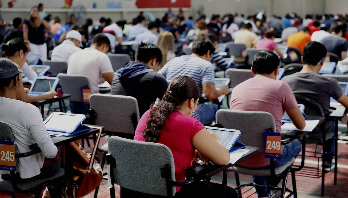 Este 24 de marzo se tomará el examen de acceso a la educación superior